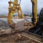 5 Tonne Bracket Pivot Hyd Thumb with Tyne