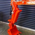 Hitachi ZX17 Hyd Thumb Bracket Pivot style