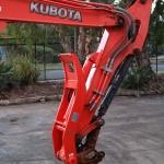 Kubota U55-5 Hitch Pivot Thumb