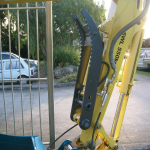 5 Tonne Bracket Pivot Hyd Thumb