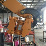 New Case Backhoe Tilt Hitch