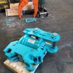 Kobelco SK200 Auto-lock Tilting Quick Hitch