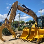 CAT 320 with all our attachments