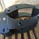 Komatsu PC88MR 4 Tyne Hydraulic Grab